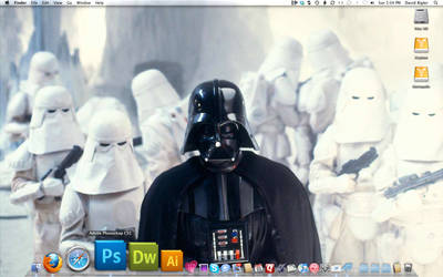 The Empire Strikes Mac by davidbigler