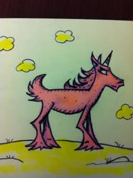 Pink Seussycorn Pony by davidbigler