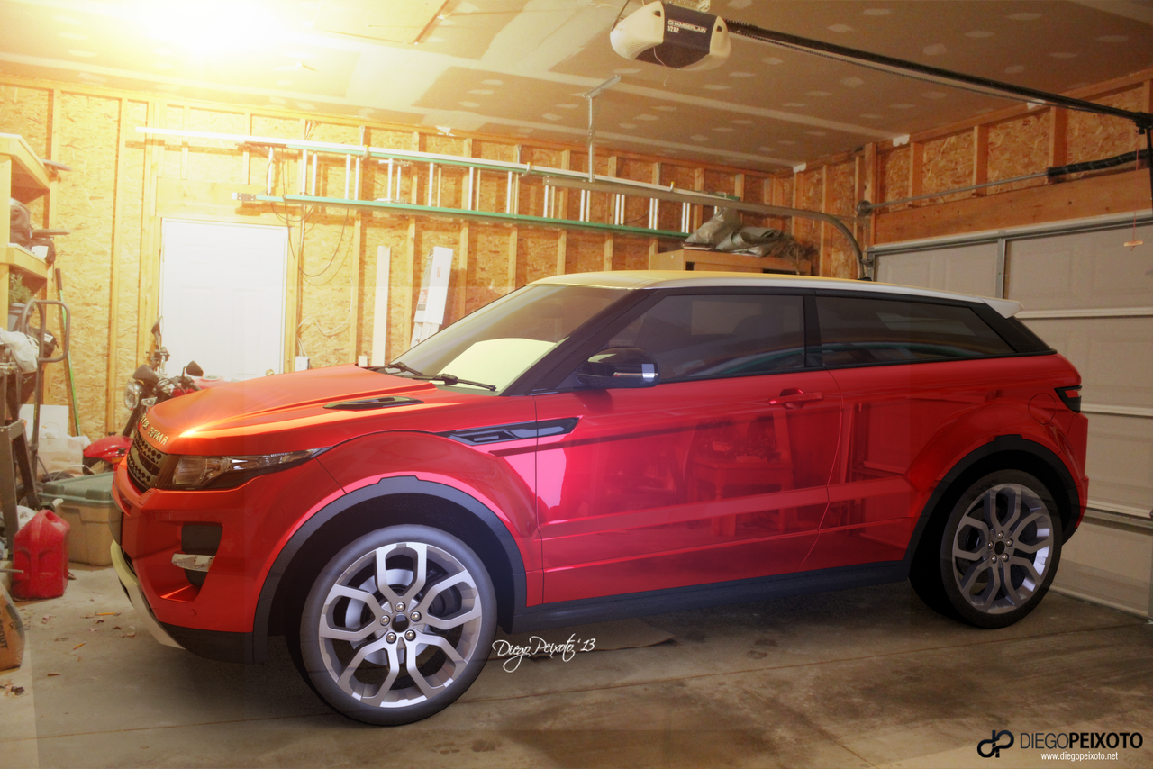 land rover in garage by crazypxt on deviantart. Black Bedroom Furniture Sets. Home Design Ideas