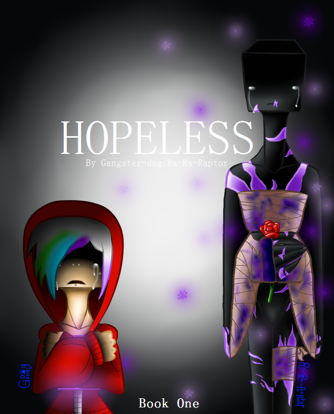 Minecraft Fan Comic Cover - HOPELESS by Gangster-dog