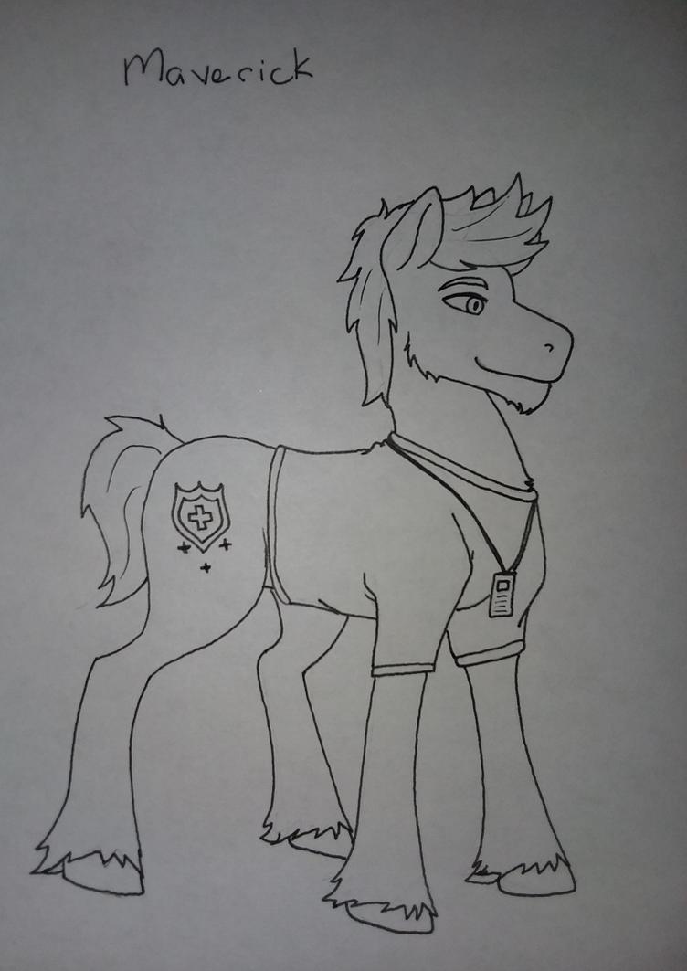 Z-Pony Exodus: Maverick by HarmonyHarp