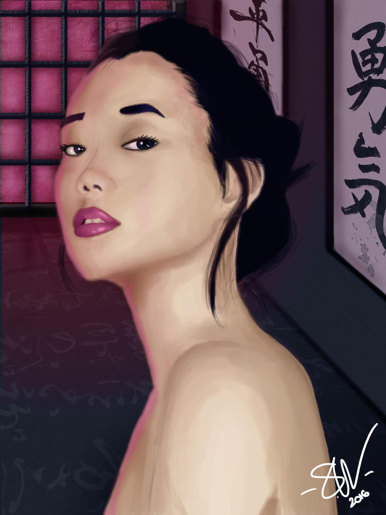 It is not for Geisha to feel by SWing-Art