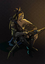 Hanzo fan art