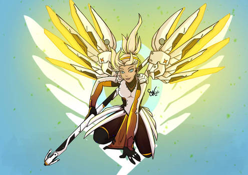 Mercy Fan art
