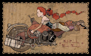 Steam Monocycle by timderyk