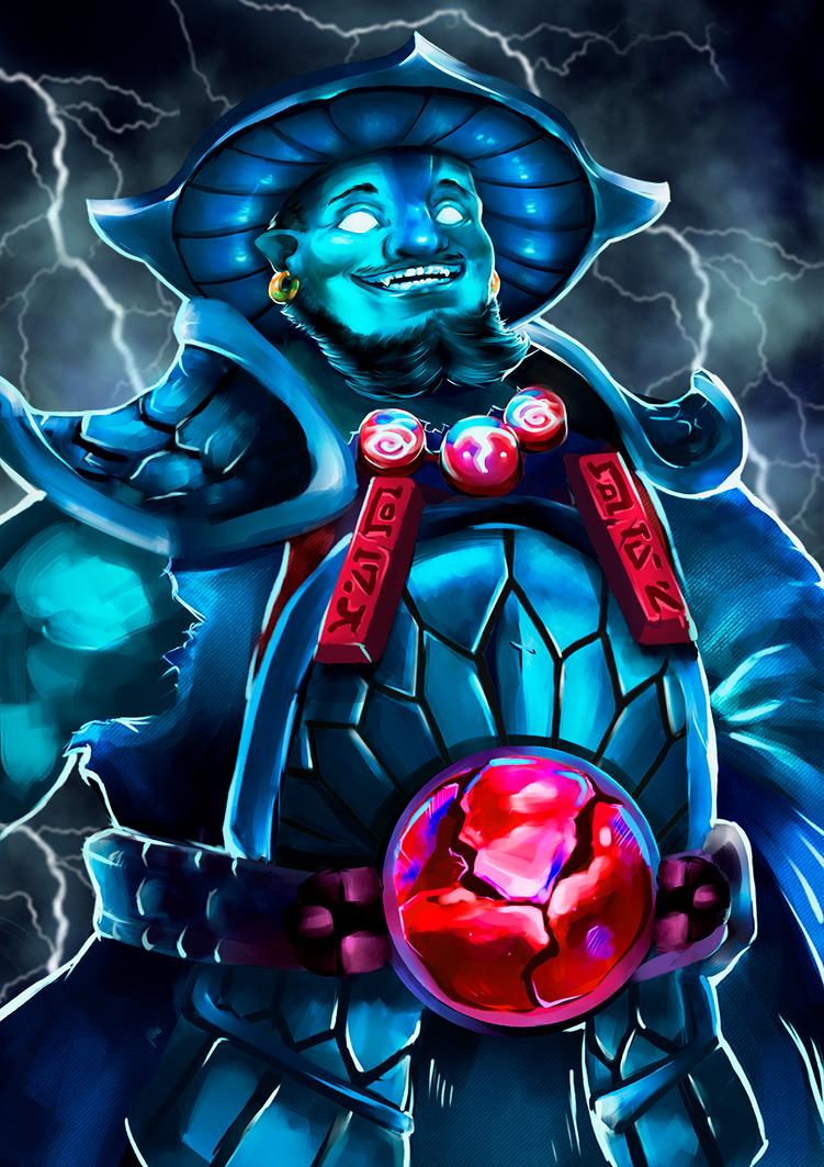 Storm Spirit Dota 2 Art By Victoria Chlk