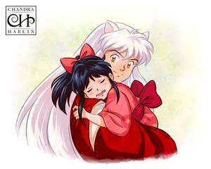Inuyasha and Moroha