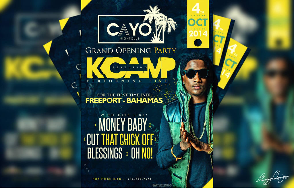 k camp concert event poster design by swayjay on deviantart