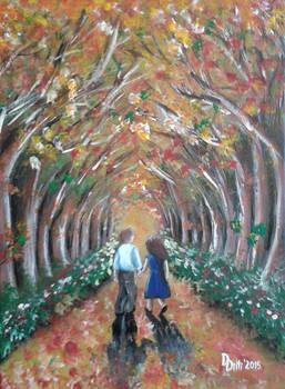 Autumn walk (for Sara, X_2015)