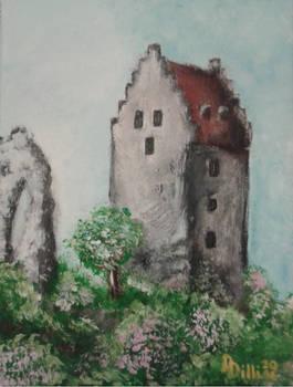 Topolciansky hrad 1 - Topolcany castle 1 (II_2016)