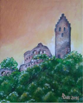 Topolciansky hrad 2 - Topolcany castle 2 (II_2016)