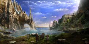 The Old Cliffs Spire