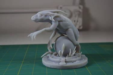 Eelguana - 3D print