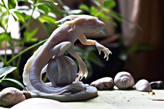 Eelguana - 3D print - Photoshoot