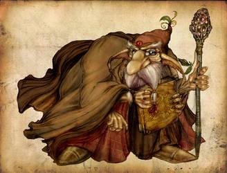 Zareth The Hermit by Verokomo
