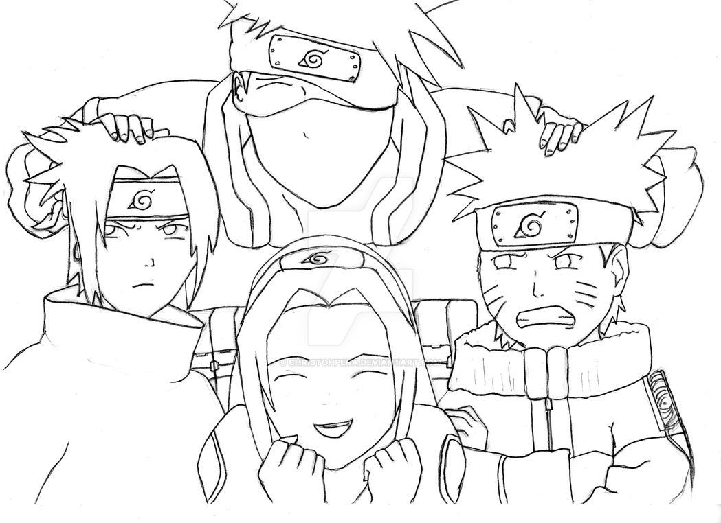 Naruto Team 7 Photo by christohpera on DeviantArt