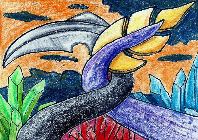 ACEO 2 Dragon Promise by Okami-kiba