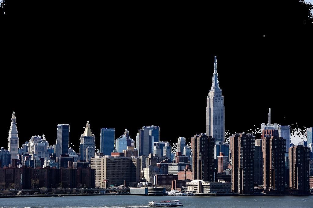 New York City Transparent by itsharman on DeviantArt