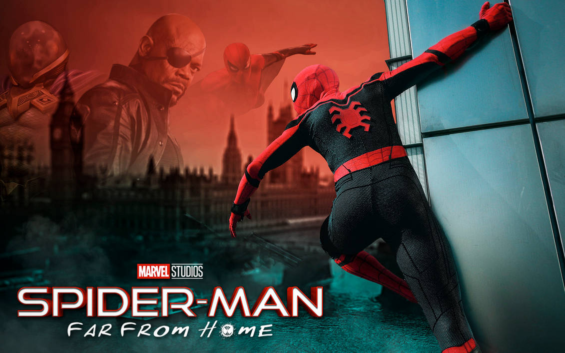 Movie Poster 2019: Spiderman Far From Home HD By Itsharman On DeviantArt
