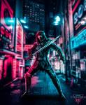 Ronin neon street