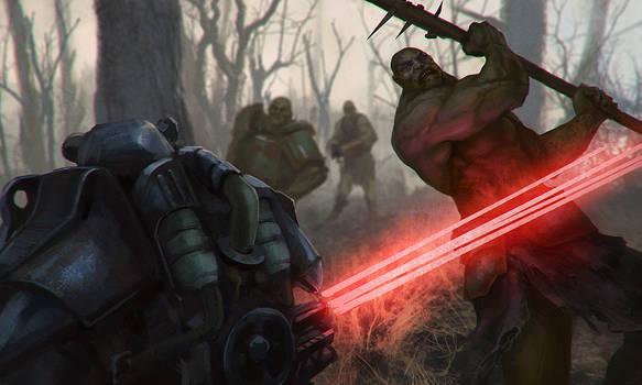 Super mutant attack