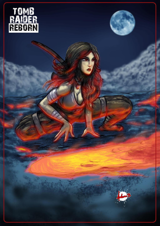 Lara Croft / Tomb Raider : Reborn Adam3 by Adam3Garwood