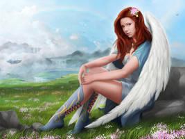 Angel by Skinetneo