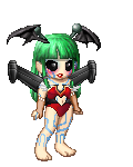 Alien Morrigan by MarvelMeleeChunLi32