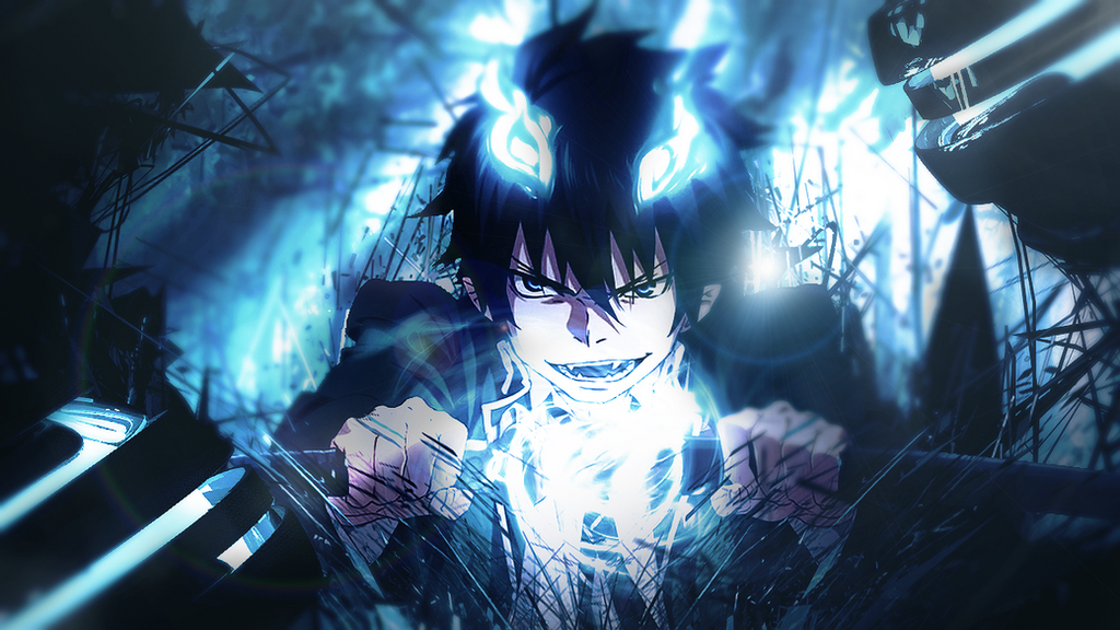 epic blue exorcist wallpaper - photo #23