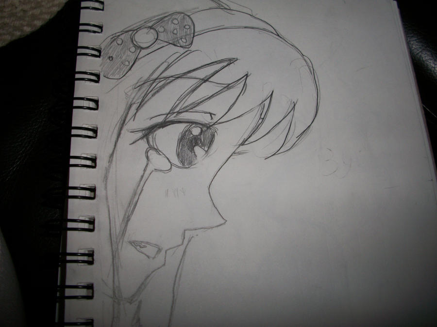 Easy anime drawings of people for Easy sketches of people