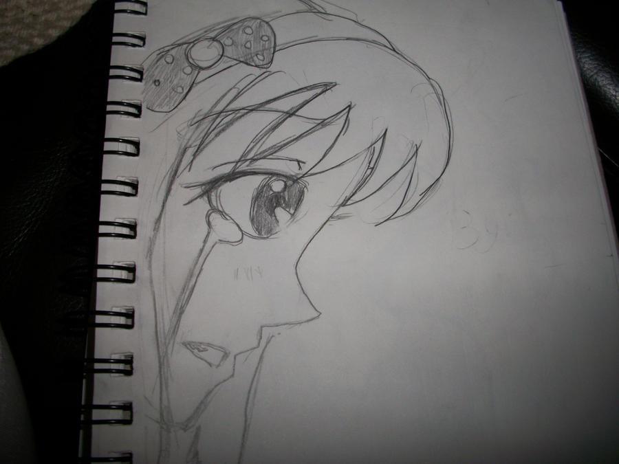 Easy To Draw Anime Girl Crying 79927 Loadtve