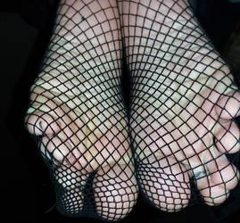 Soles in nets!