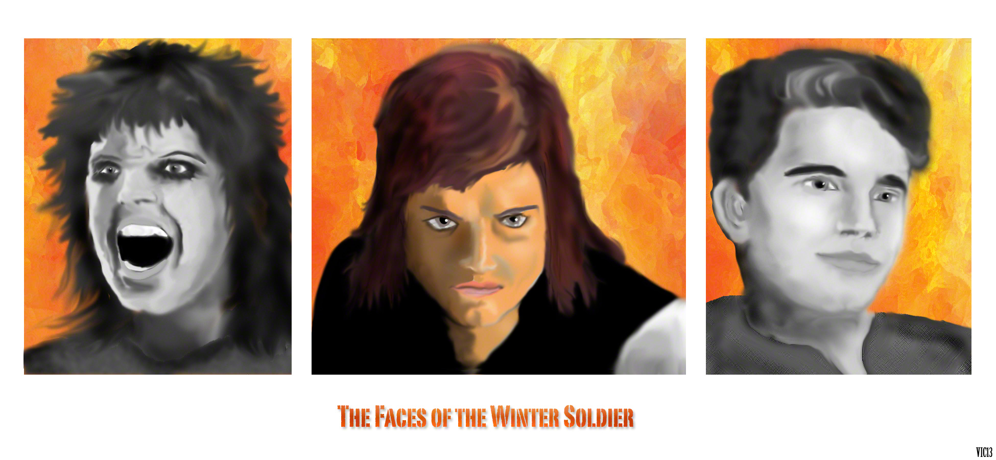 The 3 faces of the Winter Soldier
