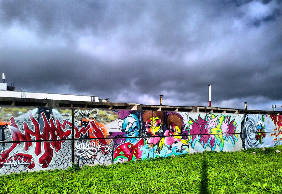 Graffiti by IronCrusader