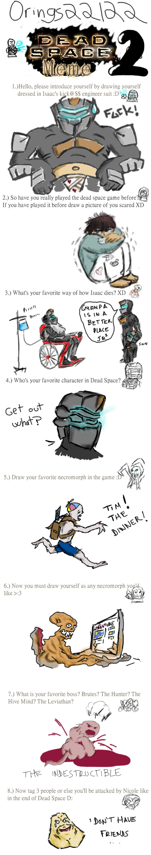 Dead space 2 meme by kur0s4k1