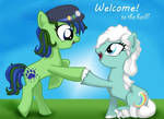 Moonflakes first Brohoof!
