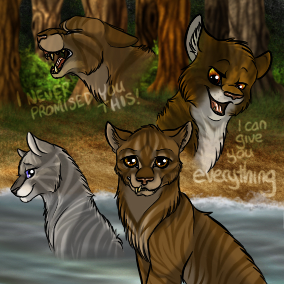 Crookedstar warrior cats