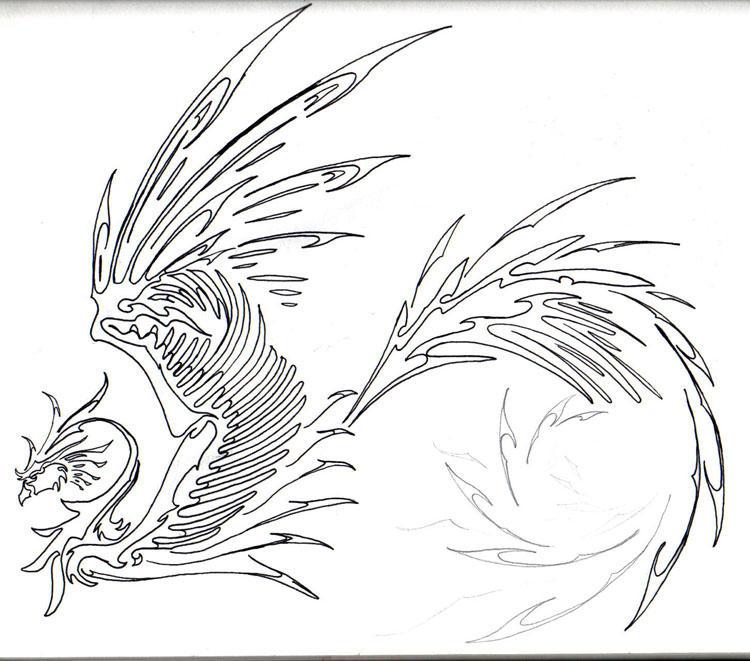phoenix tribaltribbul on deviantart