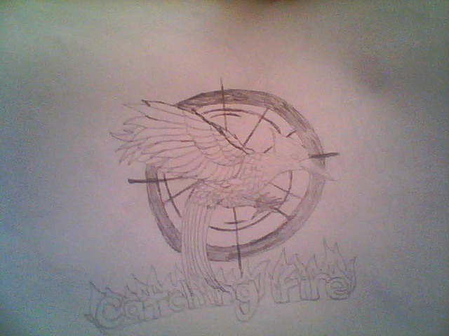 Catching Fire Symbol By Raycool225 On Deviantart