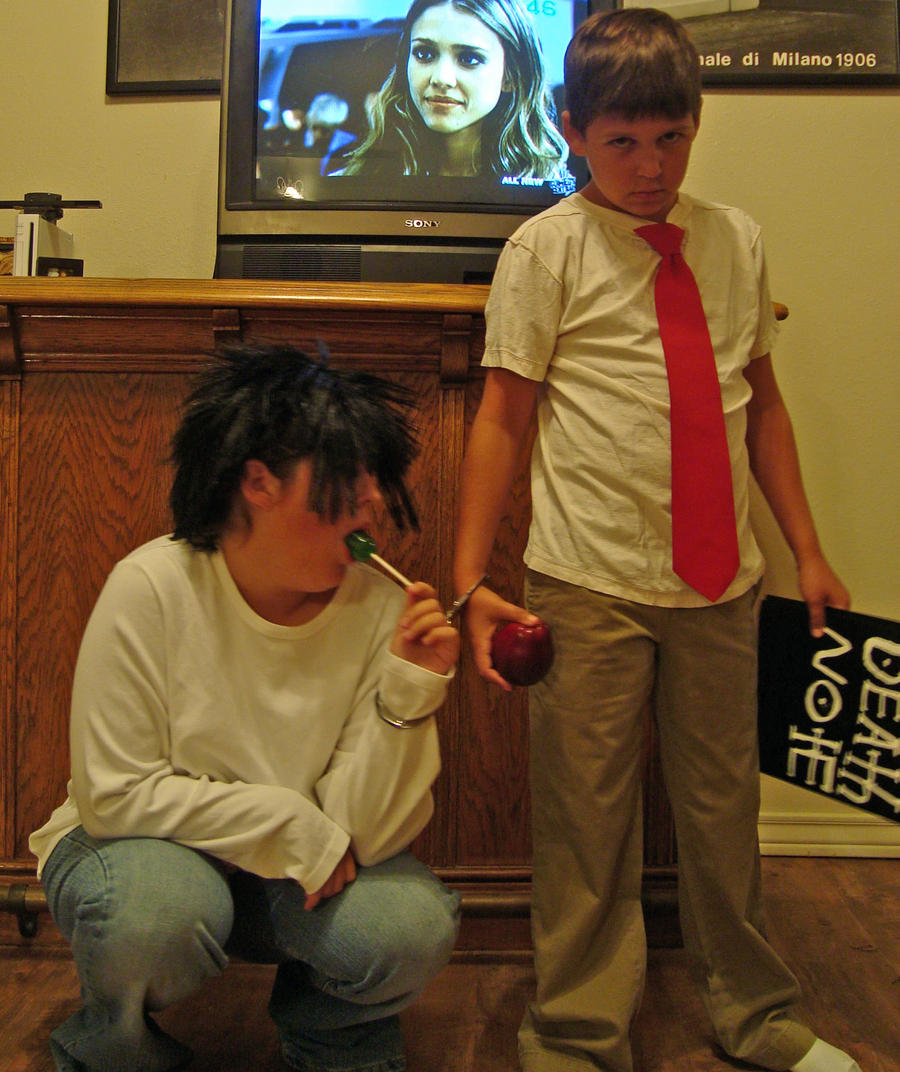 L and Light Death Note  Itsuki  WorldCosplay i just