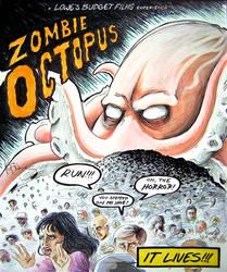 Zombie Octopus - IT LIVES by kdotmdot