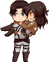 Couple Pixels :: [ Shinju-Tsukuda ] by mushmelonn