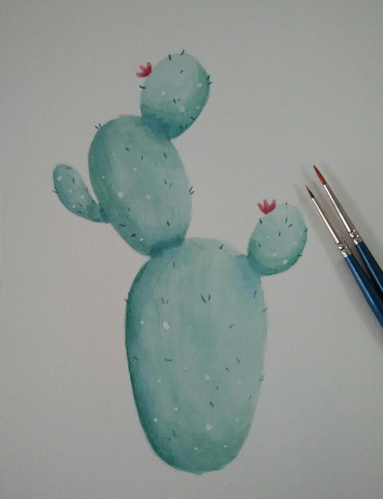 cute cactus  by peipeii