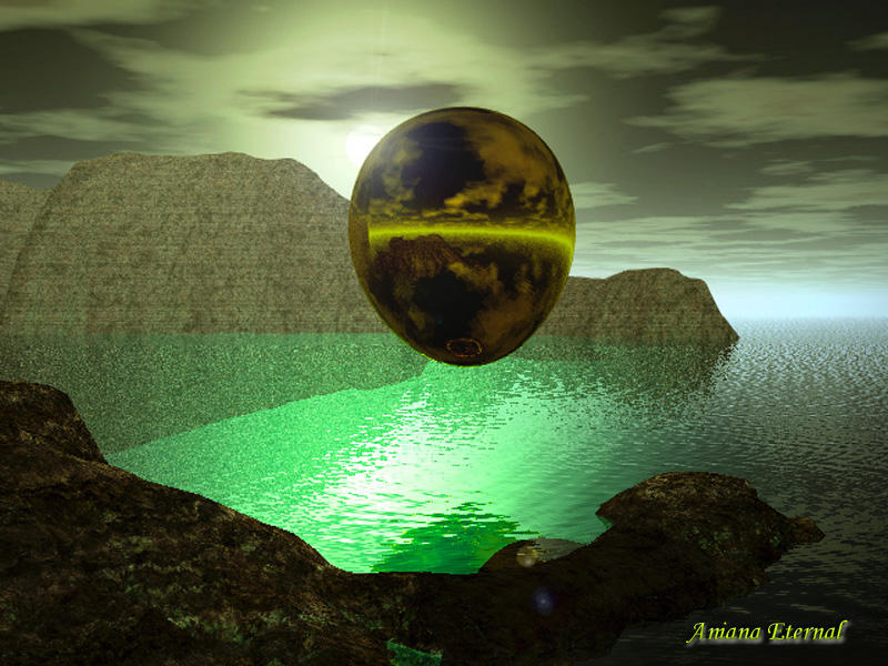 Lagune Egg by Aniana