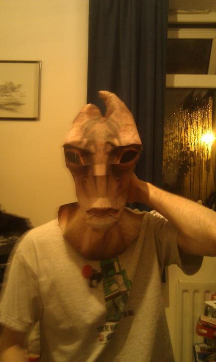 Mordin Solus mask base by Manjou