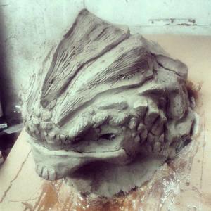 Urdnot Grunt Sculpt WIP