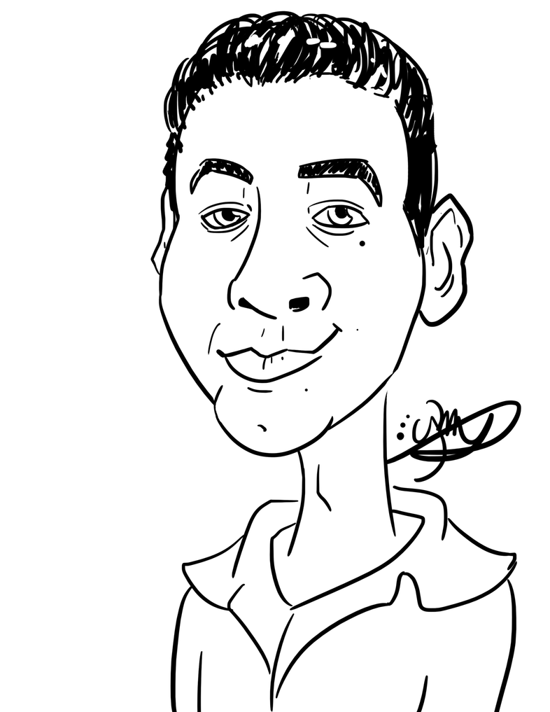 Ben - Caricature by Aminentus
