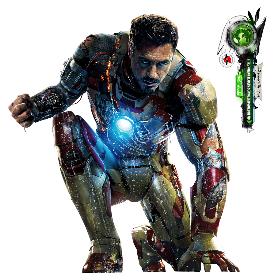 Iron Man 3:Tony Stark Poster Movie HD Render by ...