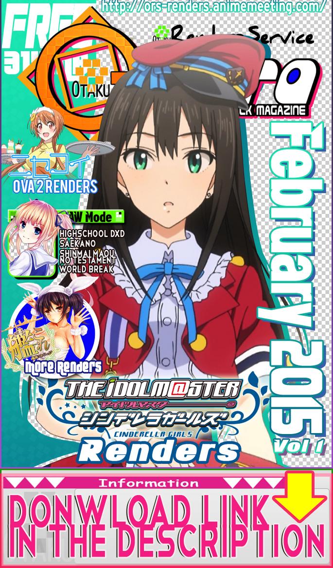 (PNGs Pack)ORS Quadra:February 2015 vol 1 by OtakuRenders-Service