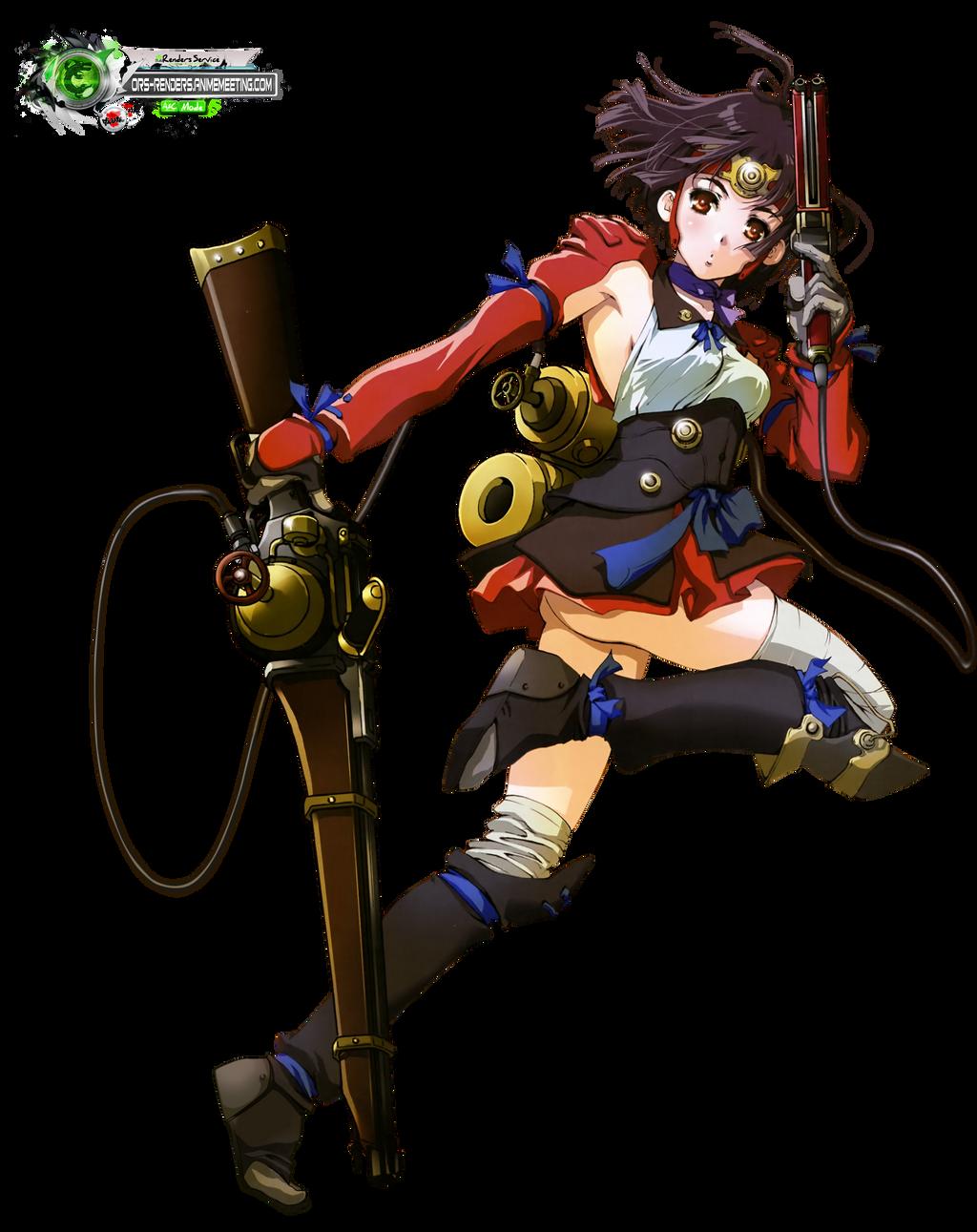 Kotetsujou No Kanberi Mumei Battle Gunner Hd Png By